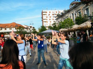 019 flash mob